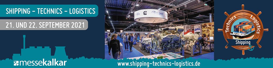 Shipping-Technics-Logistik–Messebanner