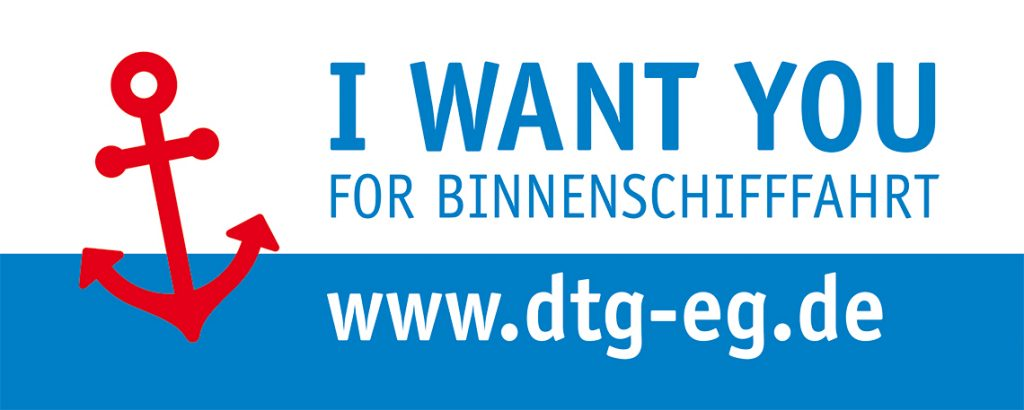 DTG – I want you for Binnenschifffahrt